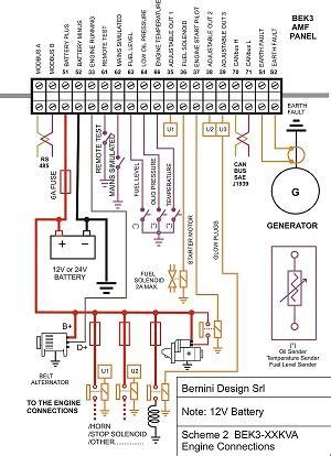 diesel generator control panel wiring diagram generator controller manufacturers