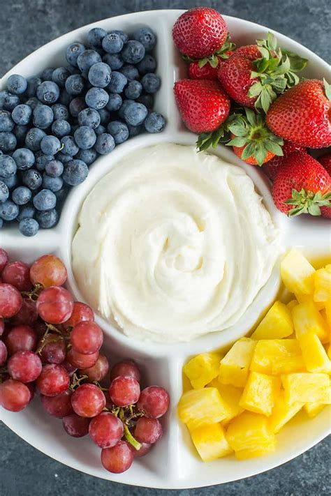 Cream Cheese Fruit Dip Recipe Brown Eyed Baker