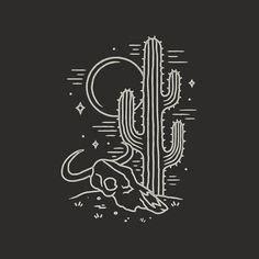 How Draw Desert Cacti Steps Mylikes Pinterest