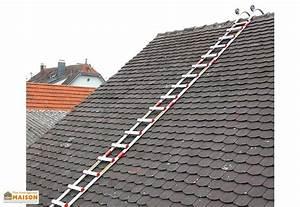 Echelle De Toit : echelle de toit en aluminium professionnelle 1 17 6 60m ~ Edinachiropracticcenter.com Idées de Décoration