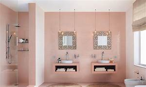 photo salle de bains et rose deco photo decofr With decoration sal de bain