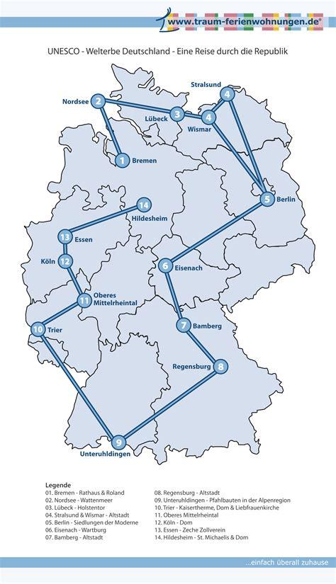 eine reise zu den deutschen unesco welterben reisemagazin