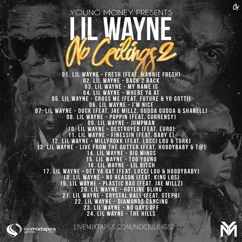 No Ceiling Lil Wayne by Lil Wayne No Ceilings 2 Money Ent