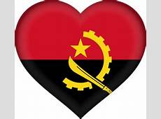 Angola flag vector country flags