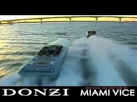 Miami Vice Boat Type by Donzi Miami Vice Trailer And Promo Jay Z Linkin Park