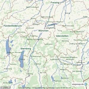 Möbelhaus München Umgebung : geographische karte m nchen und umgebung von alex landkarte f r die welt ~ Orissabook.com Haus und Dekorationen