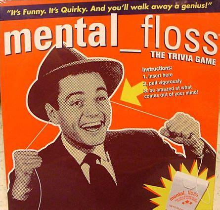Mental Floss Game | Board Game | BoardGameGeek
