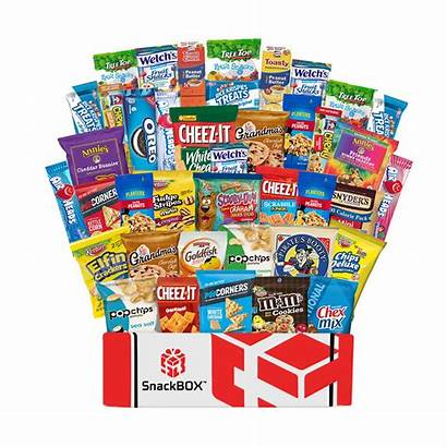 Package Care Snacks College Office Students Military
