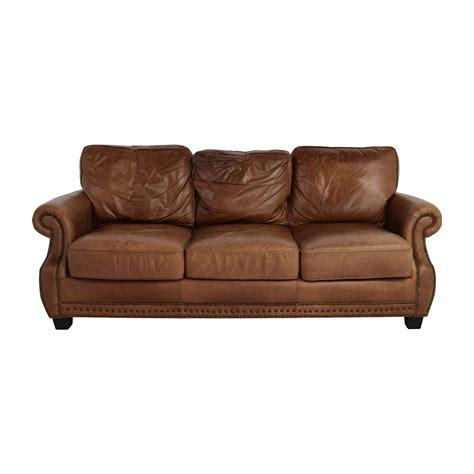 Safavieh Sofa by 81 Safavieh Safavieh Couture Brayton Leather Sofa