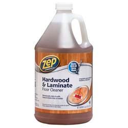 zep 128 oz hardwood and laminate floor cleaner of 4 zuhlf128 the home depot