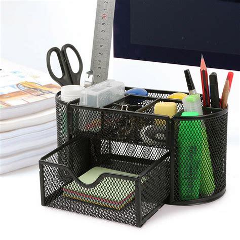 pencil desk desk organizer pen pencil holder storage tray desktop