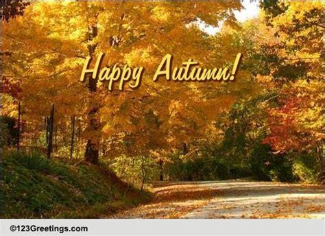 bright  happy autumn  happy autumn ecards greeting cards