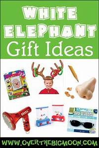 20 Best White Elephant Gifts Funny t ideas for DIY or