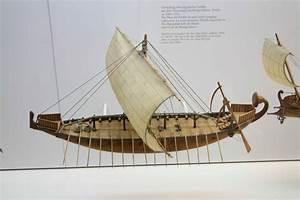 Models of Egyptian ships in the Deutsche Museum, Munich