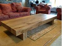 extra large coffee table Large Oak Coffee Table