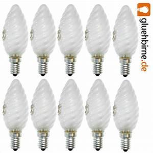 Glühbirne E14 25 Watt : 10 x klein gl hbirne kerze gedreht 25w e14 matt gl hbirnen gl hlampen ~ Watch28wear.com Haus und Dekorationen