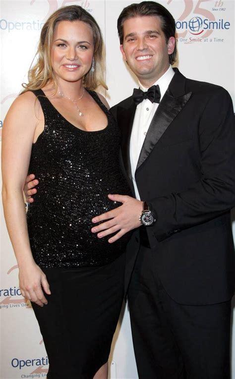 trump donald vanessa jr pregnant marriage divorce road inside breakdown 2007 bei baron rex matt shutterstock