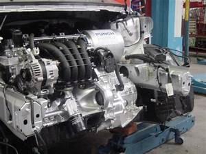 Hybrid Powertrain In Smart Forfour Engine Bay