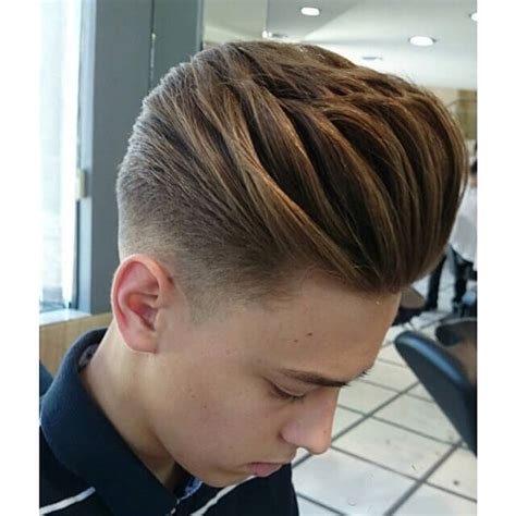 modern mens hairstyles  volume hairstyle  point