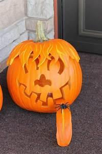 Une Citrouille Pour Halloween : d corer une citrouille pour halloween en 30 id es ~ Carolinahurricanesstore.com Idées de Décoration