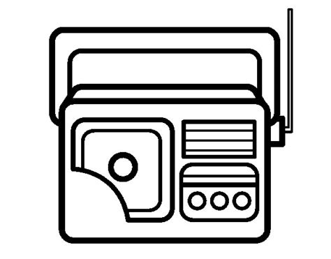 dibujo de radio imagui