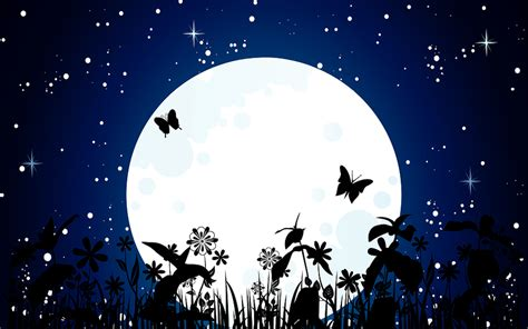 Animated Moon Wallpaper - 23 best colorful and free butterfly wallpapers