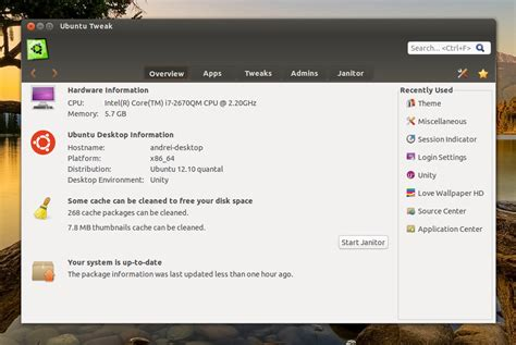 Rahasia Seperti Perawan Ubuntu Tweak Untuk Ubuntu 12 10 Linux Opensource