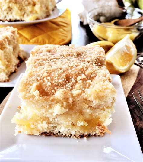 Fresh meyer lemon juice (see notes) and 10 thin meyer lemon slices for garnish. Meyer Lemon Coffee Cake #CoffeeCakeDay