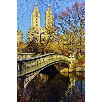 Bow Bridge Central Park AutumnNew York City
