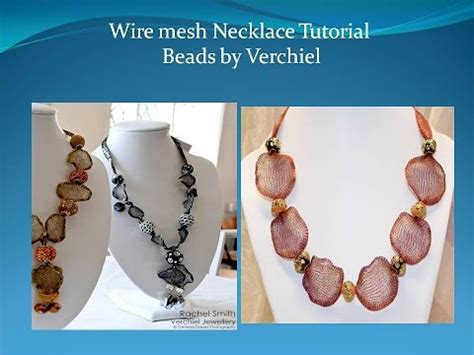 making a necklace with wire youtube