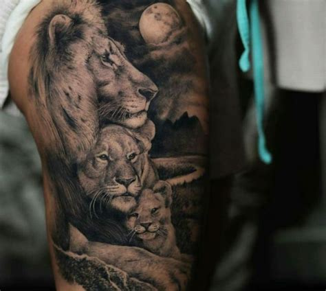 Tatouage Signe Lion