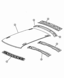 Chrysler 300 Panel  Roof  With Sunroof Opening  With