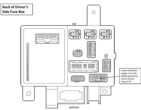 Tacoma Wiring Diagram Schematic
