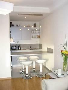 Arbeitsfläche Küche Vergrößern : kleine k che einrichten 44 praktische ideen f r individualisierung des kleines raumes ~ Markanthonyermac.com Haus und Dekorationen