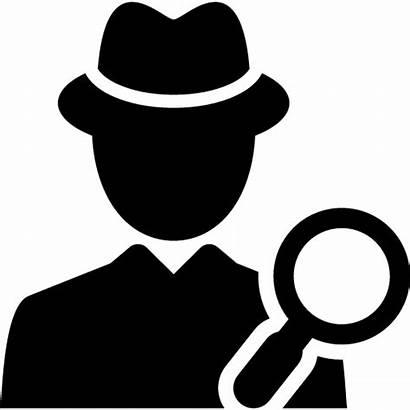 Detective Clipart Clip Silhouette Private Transparent Investigator