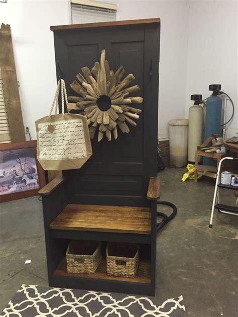 vintage hall tree    farm house doors