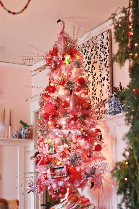 pink christmas tree decorations ideas  love magment