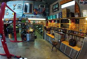 Man Cave Garage Workshop Idea Pictures to Pin on Pinterest