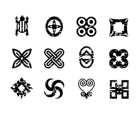 free african symbols vector vector art graphics freevector com