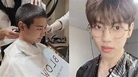 SHINee珉豪剃頭入伍 暖心告別粉絲|東森新聞