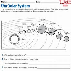 Space Printables  Time For Kids  {third Grade}  Pinterest  Space Printables, Activities And