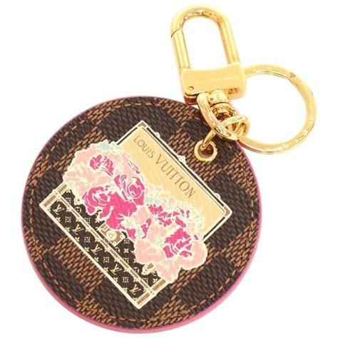 louis vuitton illustre pink posies ebene damier gold tone