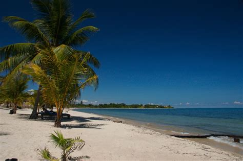 Filebeach Front At Placencia Belize Wikimedia Commons
