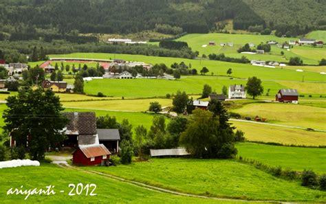 Pretty Norwegian Country Side