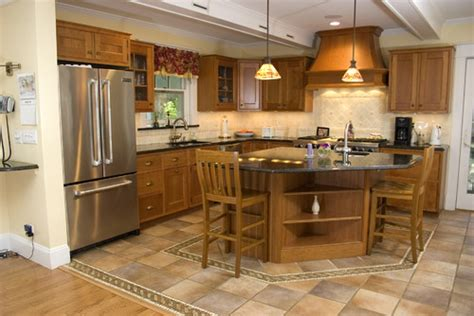 floors and kitchens st we are thinking of mixing hardwood flooring with tiles 6659
