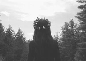black and white, grunge, photography, tumblr - image ...