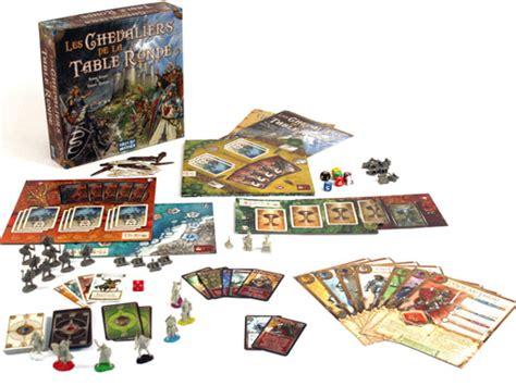 jeu de soci 233 t 233 les chevaliers de la table ronde ludovox