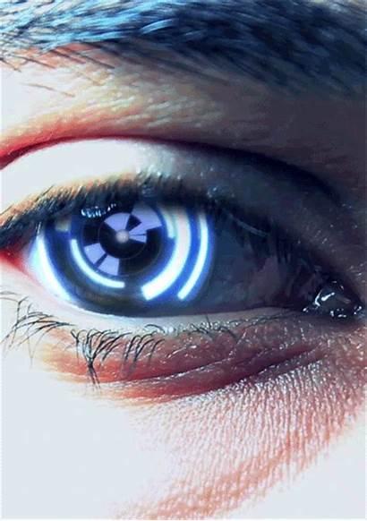 Eye Cyberpunk Cyber Eyes Gifs Cybernetic Cyborg