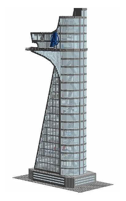 Avengers Tower Moc Cat Maze Lego Building