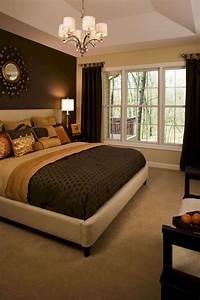 Brown, Painted, Bedroom, Walls, 2115, U2013, Decor, U0026, Gardening, Ideas